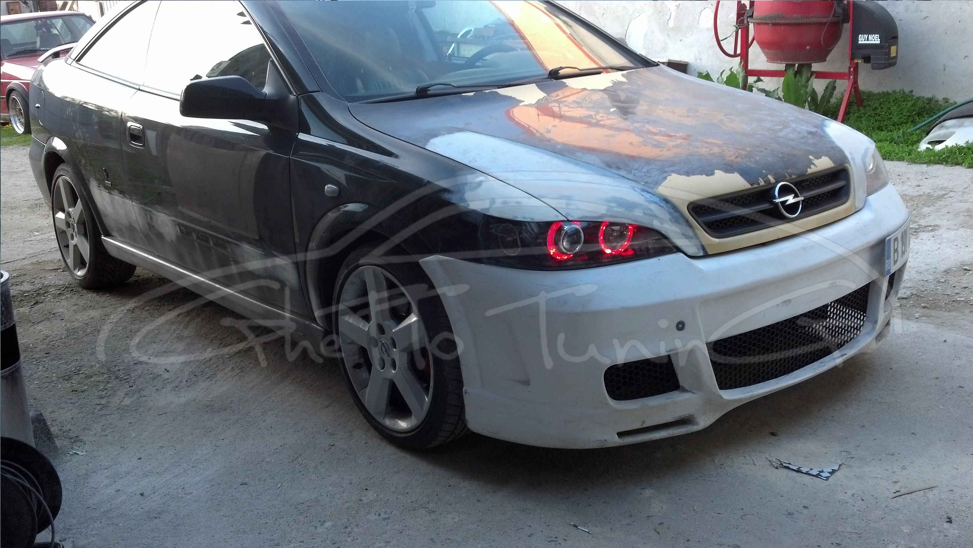 Ghetto Tuning 187 Blog Archive 187 Bad Boy Look Opel Astra