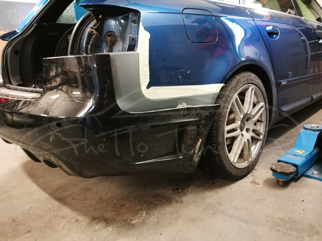 Ghetto Tuning Blog Archive Upgrade Bara Spate Audi A4 B7 Avant Dtm